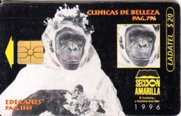 MEXICO - Seccion Amarilla, Edecanes Pag.1145, Chip GEM1.1, Used - Mexico
