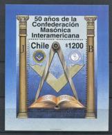 103 CHILI 1997 - Masonic Franc Maconnerie Freemasonry Freimaurerei - Neuf (MNH) Sans Trace De Charniere - Freimaurerei