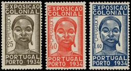 ** PORTUGAL - Poste - 572/74, Exposition Coloniale De Paris 1934 - Non Classés