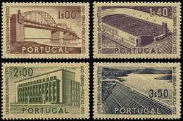 ** PORTUGAL - Poste - 766/69, Travaux Publics - Non Classés