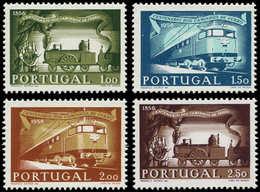 ** PORTUGAL - Poste - 831/34, 100° Aire Des Chemins De Fer - Non Classés