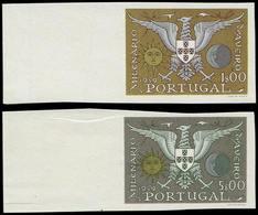** PORTUGAL - Poste - 857/8, Non Dentelés, Bdf: Ville D'Aveiro - Non Classés