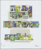 ** PORTUGAL - Poste - 2369/98, 3 Feuilles Dans Pochette Spéciale Avec Feuille De Texte: 20° Siècle, Cosmos (Michel 2395/ - Non Classés