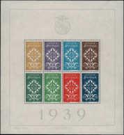 ** PORTUGAL - Blocs Feuillets - 1, Très Beau: Légion Portugaise 1939 - Non Classés
