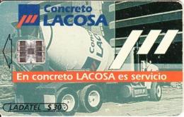 MEXICO - Concreto Lacosa, CN : 0371, Chip SC7, 10/98, Used - Mexico