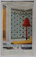 Ancien Document Publicitaire Maison Mieux Et Meilleur Marché Veuve Georges Gauthier 142 Avenue Daumesnil Tapisserie - Reclame