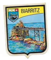 Blason Adhésif Biarritz - Autocollants