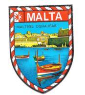 Blason Adhésif Malte / Malta - Autocollants