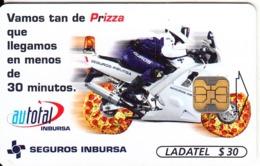 MEXICO - Autotal, Seguros Imbursa, Chip OB1, 06/98, Used - Mexico