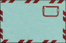 N AFGHANISTAN - Entiers Postaux - Wiegand 6, Aérogramme, Erreur Sans Impression Du Vert (timbre +bords): 6df. - Afghanistan