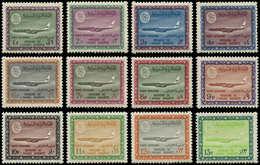 ** ARABIE SAOUD. NEDJED - Poste Aérienne - 57/75 (sauf 61 Rare) + 77/79: Avion - Saudi-Arabien