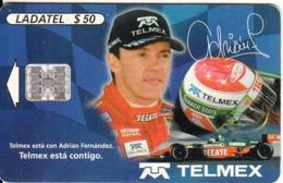 MEXICO - Adrián Fernández, Chip SC7, 11/99, Used - Mexico