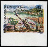 ** DOMINICAINE - Poste - 1196, Non Dentelé (tirage 200), Cdf: UPAEP, Réserve Animalière - Dominikanische Rep.
