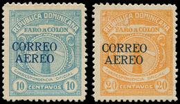 * DOMINICAINE - Poste Aérienne - 10/11, Signés Miro & Kessler (tirage 1100). Rare - Dominikanische Rep.
