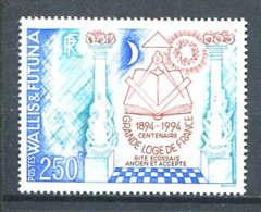 103 WALLIS FUTUNA 1994 - Masonic Franc Maconnerie Freemasonry Freimaurerei - Neuf (MNH) Sans Trace De Charniere - Freimaurerei