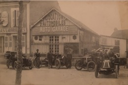 Chatillon Colligny (45)France / Location D Automobiles - Auto Garage (automobiles) 19?? - Cartes Postales