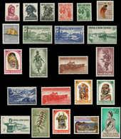 ** PAPOUASIE NLE GUINEE - Poste - 18/40, Complet 23 Valeurs: Série Courante De 1958/64 - Papouasie-Nouvelle-Guinée