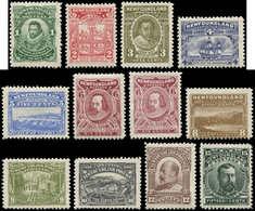* TERRE NEUVE - Poste - 72/82 + 77a, Complet 12 Valeurs: Tricentenaire De La Colonie. - Newfoundland