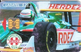MEXICO - Herdez/F1, McCormick, Chip OB1, 07/96, Used - Mexico