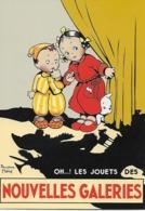 """CPM -  Publicité  Des Années  1930 -  NOUVELLES GALERIES """"OH...! LES JOUETS  (Béatrice Mallet). - Advertising"""