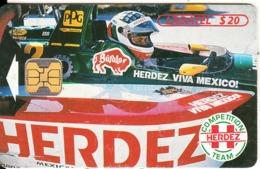 MEXICO - Herdez/F1, Bufalo Sauces, Chip OB1, 07/96, Used - Mexico