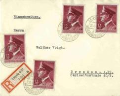 DRMi-Nr 813 /AH Geburtstag,  Echt Gelaufener R-Brief Mit SST - Germany