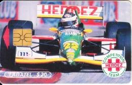 MEXICO - Herdez/F1, Chip GEM1.1, 07/96, Used - Mexico