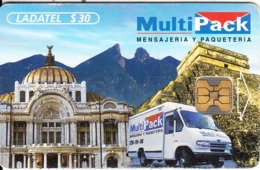 MEXICO - Multipack, Chip OB1, 12/97, Used - Mexico