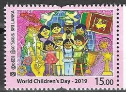 SRI LANKA, 2019, MNH, WORLD CHILDREN'S DAY,1v - Childhood & Youth