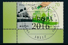 GERMANY  Mi.Nr. 3238 Europa: Umweltbewusst Leben  - ESST Berlin - Eckrand Unten Links  - Used - Europa-CEPT