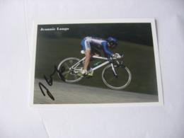 Cyclisme - Autographe - Carte Signée  Jeannie Longo - Ciclismo