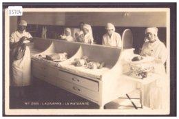 LAUSANNE - L'HOPITAL - LA MATERNITE - TB - VD Vaud