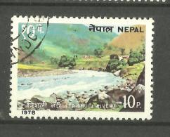 NEPAL, 1978, Visit Nepal Series, Tourism, RiverTrishuli, Rapids, USED(o) - Nepal