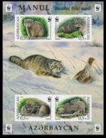 2016Azerbaijan 1175-78/B171bWWF / Cat - Manul  (edition 100) 140,00 € - W.W.F.