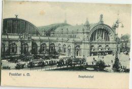 Frankfurt - Hauptbahnhof - Francfort - Gare Centrale - Frankfurt A. Main