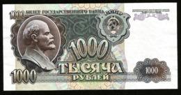 * Russia USSR 1000 Rubles 1992 ! UNC ! 67 ! - Rusland