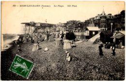 102- Mers-Les-Bains (Somme) - La Plage - Mers Les Bains