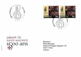 Enveloppe Premier Jour De 2015 - FDC