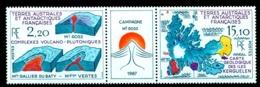 TAAF 1988 Mount Ross Volcano,Kerguelen,map,Geological Construction,Mi.242,MNH - Volcanos