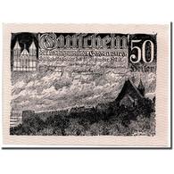 Billet, Autriche, Eggenburg, 50 Heller, Paysage, 1920, 1920-12-31, SPL - Austria