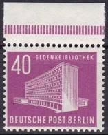 Berlin, 1954, 122, MNH **,  Freimarken: Berliner Bauten, - Unused Stamps