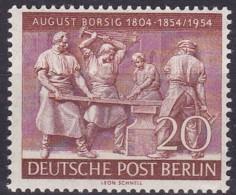 Berlin, 1954, 125, MNH **,  August Borsig - Unused Stamps