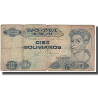 Billet, Bolivie, 10 Bolivianos, KM:210, AB - Bolivië