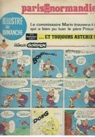 Paris Normandie N°8 Astérix Le Gaulois - Michel Vaillant - Fort Navajo - Le Temps Des Copains - Michel Tanguy De 1967 - Magazines Et Périodiques