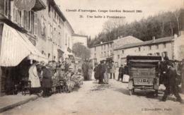 Circuit D'Auvergne - Coupe Gordon Benett 1905 - Une Halte à Pongibeaud - - France