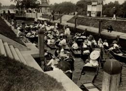 HAMPTON COURT THE THAMES MOLESEY LOCK  16*12 CM Fonds Victor FORBIN 1864-1947 - Photos