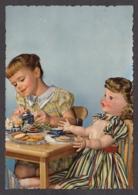 92599/ ENFANTS, Fillette Avec Une Poupée - Escenas & Paisajes