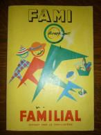 Fami Familial, Offert Par Le Familistère, Almanach 1955 - Haus & Dekor