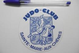 Autocollant Stickers - Sport JUDO Club à SAINTE-MARIE-AUX-CHÊNES - Autocollants