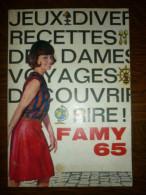 Famy Offert Par Le Familistère, Almanach 1965 - Haus & Dekor